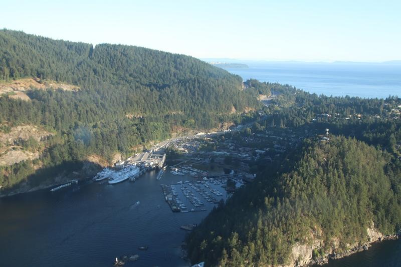 Mit der Fähre von Horseshoe Bay nach Nanaimo auf Vancouver Island