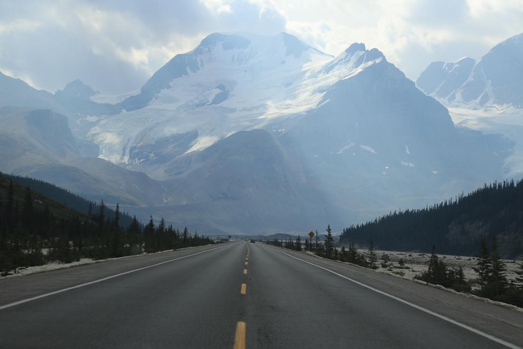 Icefields Parkway: Von Jasper nach Lake Louise