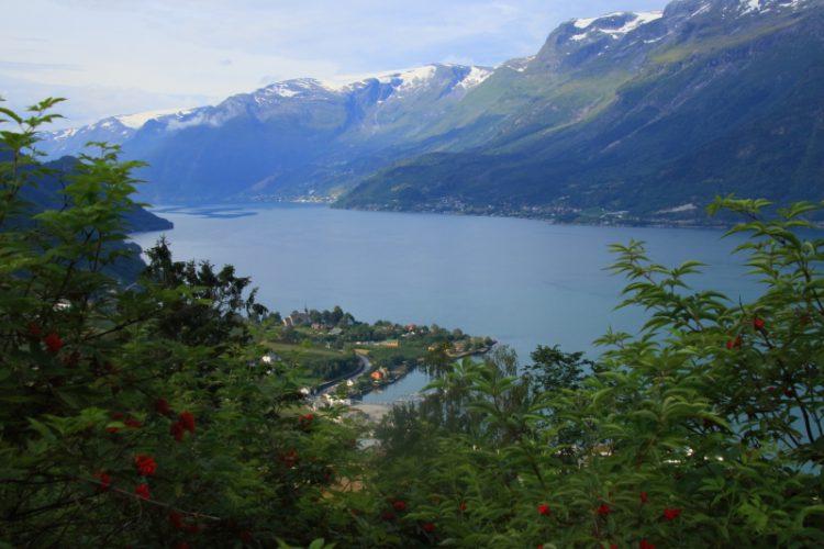 Sørfjord mit Ullensvang